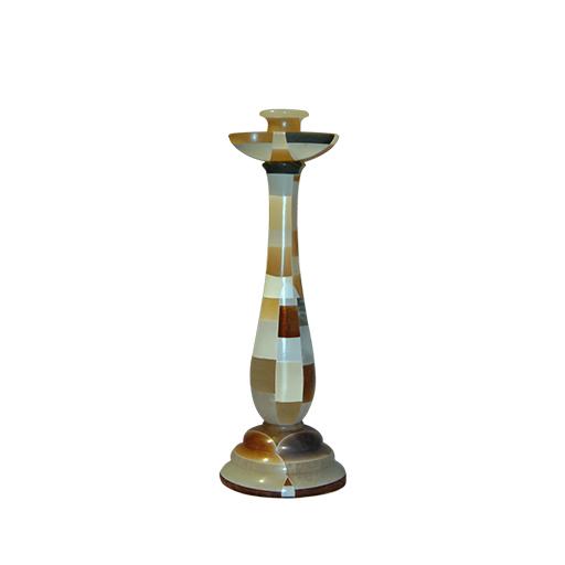 candlestick-in-alabaster-mosaic